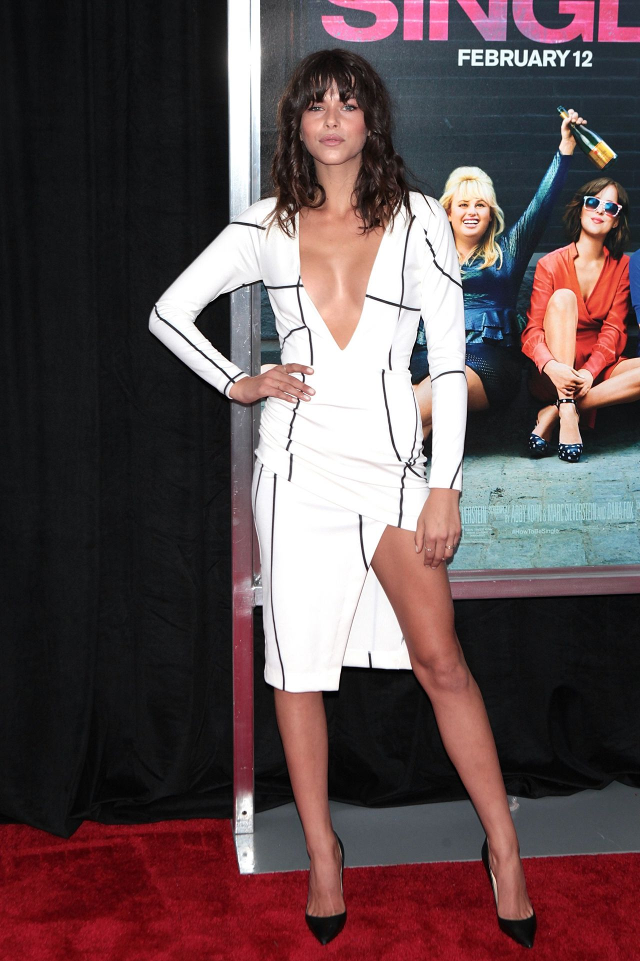 Georgia Fowler – 'How To Be Single' Premiere in New York