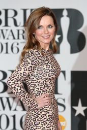 Geri Halliwell - BRIT Awards 2016 in London, UK