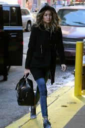 Gigi Hadid - Out in New York City 2/13/2016