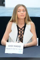 Gigi Hadid – SI Swimsuit 2016 – Swim Beach in Miami, FL 2/17/2016
