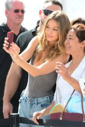 Gigi Hadid - Sports Illustrated Swimsuit 2016 Event in Miami, FL 2/18/2016