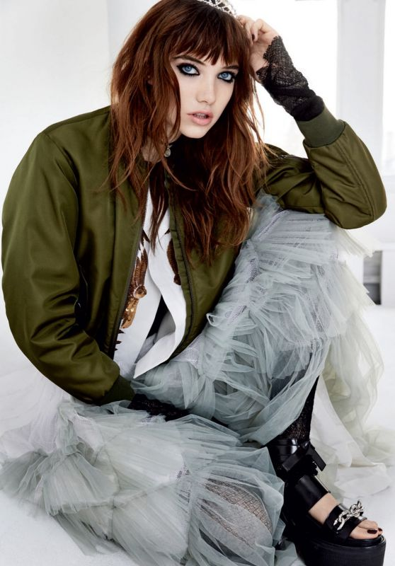 Grace Hartzel - Photoshoot for Vogue Magazine Russia March 2016