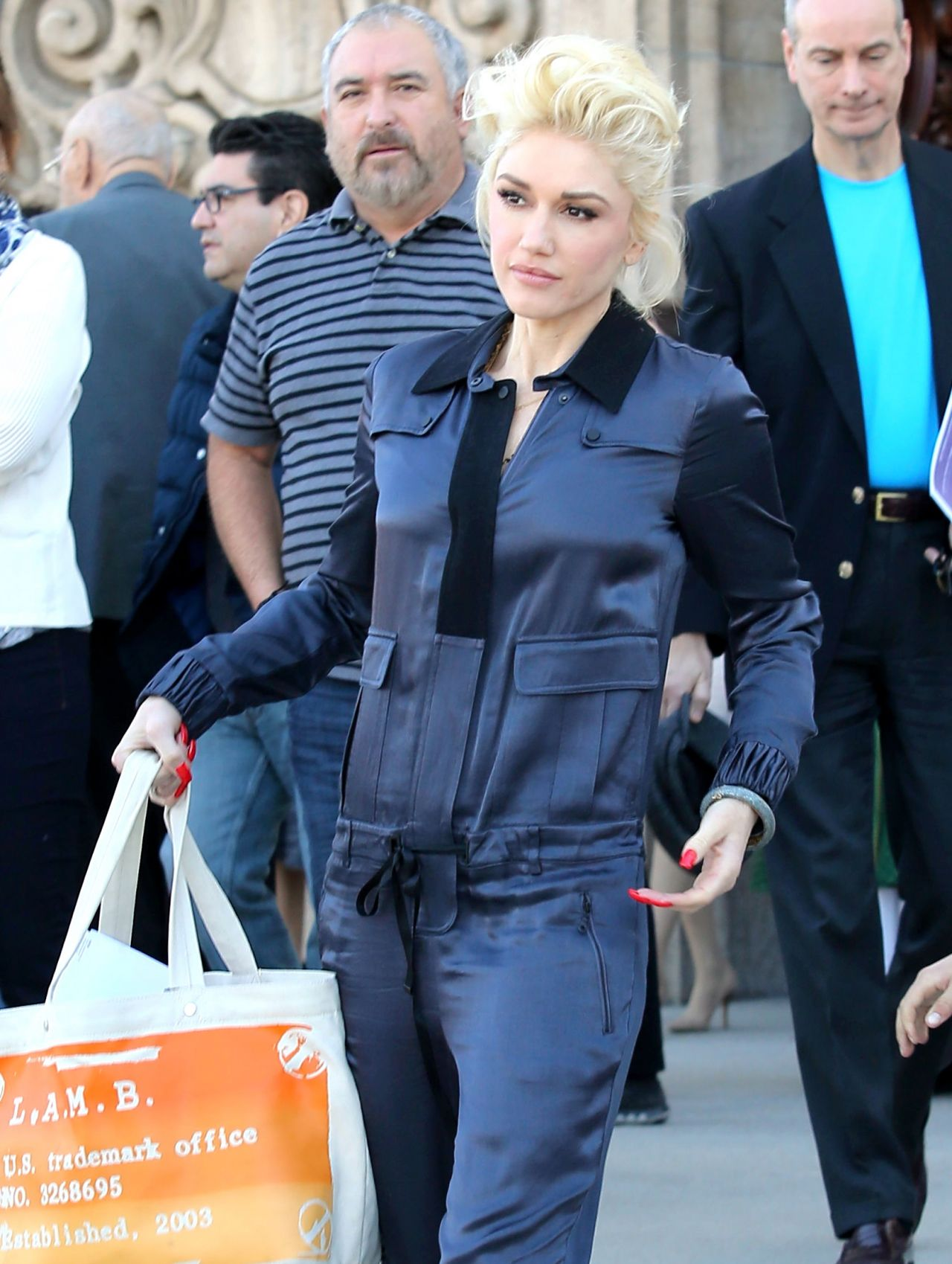 Gwen Stefani - Church Service in Los Angeles, CA, February 2016