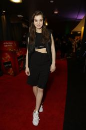 Hailee Steinfeld - Backstage at The GRAMMYs Westwood One Radio Remotes in Los Angeles - Day 2