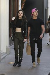 Hailee Steinfeld - Shopping at The Grove in West Hollywood, 2/12/2016