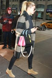 Hailey Baldwin - Leaving a Hotel in New York City, 2/9/2016