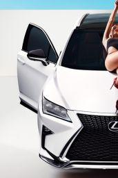 Hailey Clauson - Lexus RX 2016 Ad Campaign