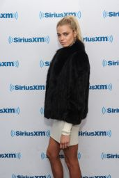 Hailey Clauson Style - SiriusXM Studios in New York City 2/16/2016