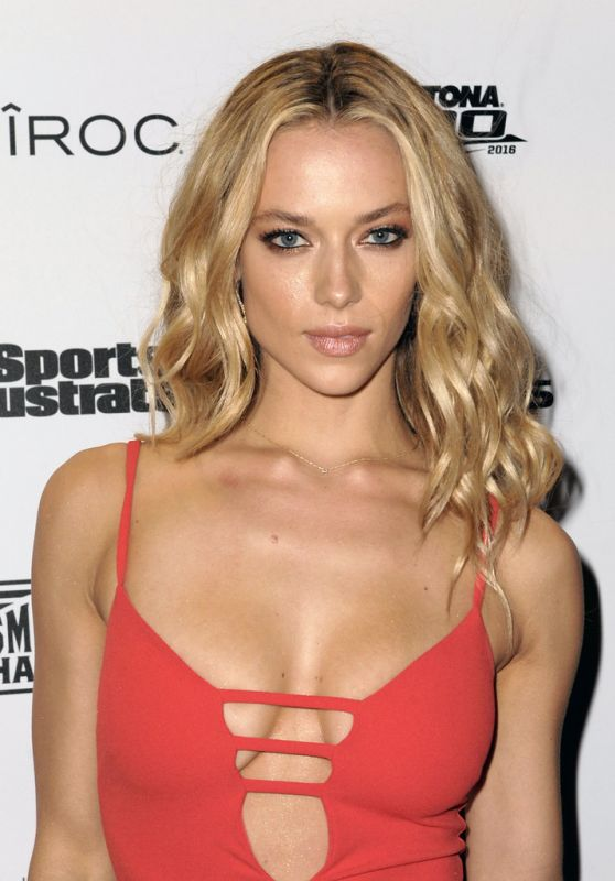 Hannah Ferguson - SI Swimsuit 2016 - A Night at Sea VIP Boat Cruise in Miami