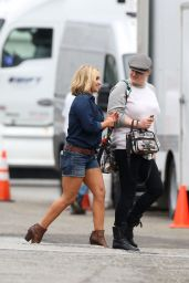 Hayden Panettiere in Jeans Shorts - Carl