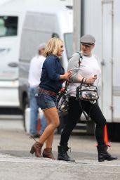 Hayden Panettiere in Jeans Shorts - Carl