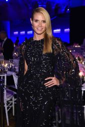 Heidi Klum – 2016 amfAR New York Gala in New York City, NY
