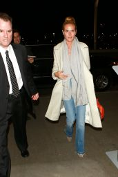 Heidi Klum at LAX Airport in LA 02/09/2016