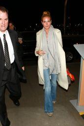 Heidi Klum at LAX Airport in LA 02/09/2016