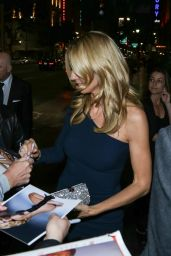 Heidi Klum Night Out Style - Outside Avalon Nightclub in Los Angeles 2/21/2016