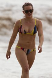 Hilary Duff Bikini Pics - Beach in Maui,  Hawaii 2/4/2016
