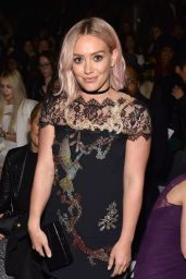Hilary Duff - Monique Lhuillier Fall 2016 Presentation - NYFW, February 2016