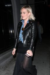 Hilary Duff Night Out Style - Leaving Craig