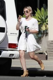 Hilary Duff - Out in Los Angeles 2/24/2016