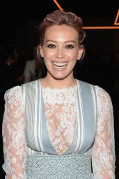 Hilary Duff - Zimmermann Fashion Show in New York City 2/12/2016