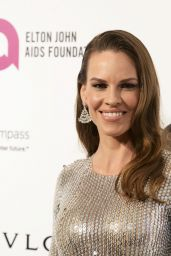 Hillary Swank – 2016 Elton John AIDS Foundation's Oscar Viewing Party in West Hollywood, CA