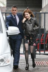 Isla Fisher - Leaving the ITV Studios 2/22/2016