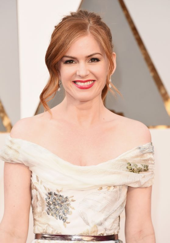 Isla Fisher - Oscars 2016 in Hollywood, CA 2/28/2016