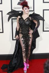 Jacqueline Van Bierk – 2016 Grammy Awards in Los Angeles, CA