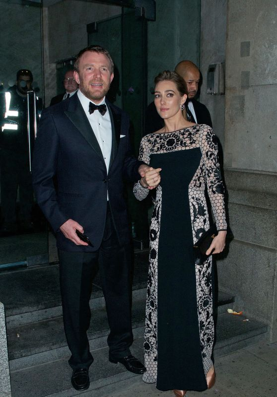 Jacqui Ainsley - Leaves the Princess Trust Dinner Gala in London 2/4/2016