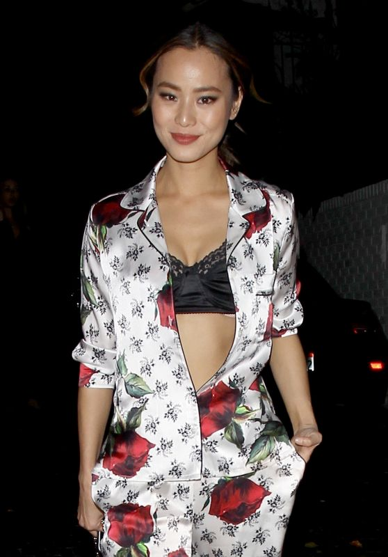 Jamie Chung - Dolce & Gabbana Pyjama Party in Los Angeles, February 2016