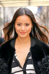 Jamie Chung Street Fashion - Out in NYC 2/13/2016