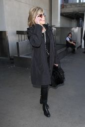 Jane Fonda Style - at LAX Airport in Los Angeles 2/8/2016