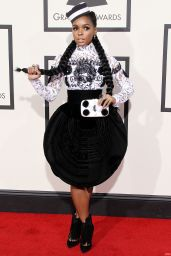 Janelle Monae – 2016 Grammy Awards in Los Angeles, CA