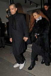 Janet Jackson at Lazarides Art Gallery in London 2/10/2016