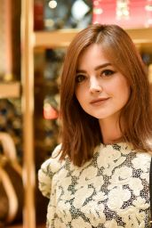 Jenna Louise Coleman - Pre BAFTA 2016 Dinner in London