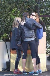 Jennifer Garner - Leaving a Gym in Beverly Hills 2/20/2016