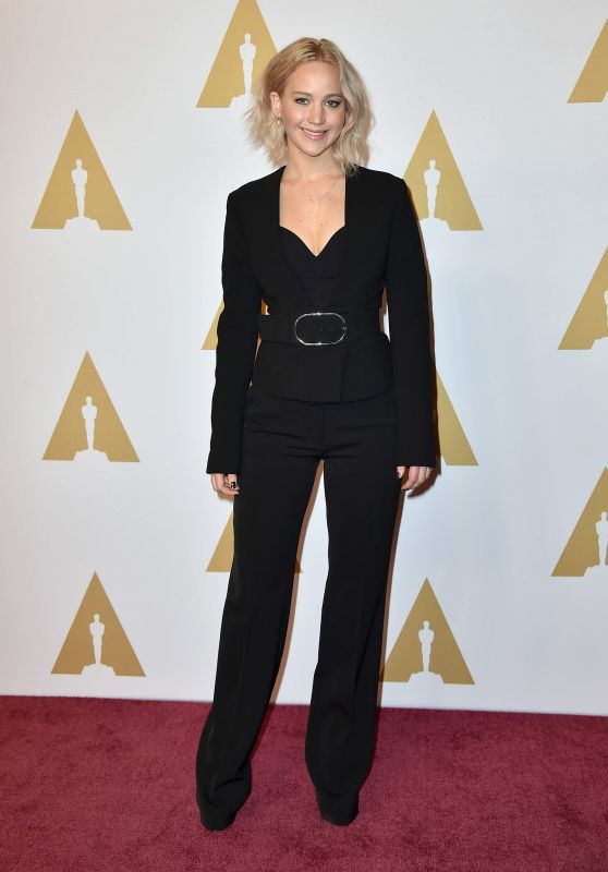 Jennifer Lawrence - Academy Awards 2016 Nominee Luncheon in Beverly Hills