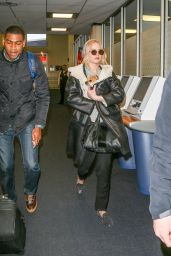 Jennifer Lawrence Departs JFK International Airport in New York City, 2/19/2016