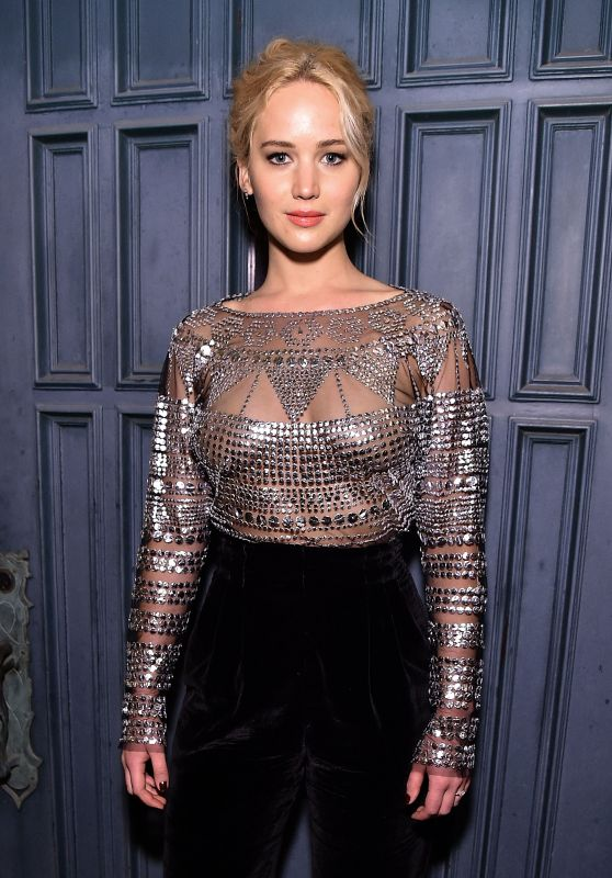 Jennifer Lawrence Fashion - The Dinner For Equality in Beverly Hills, 2/25/2016