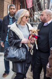 Jennifer Lawrence Leaving Her Hotel in New York City, NY February 19 2016
