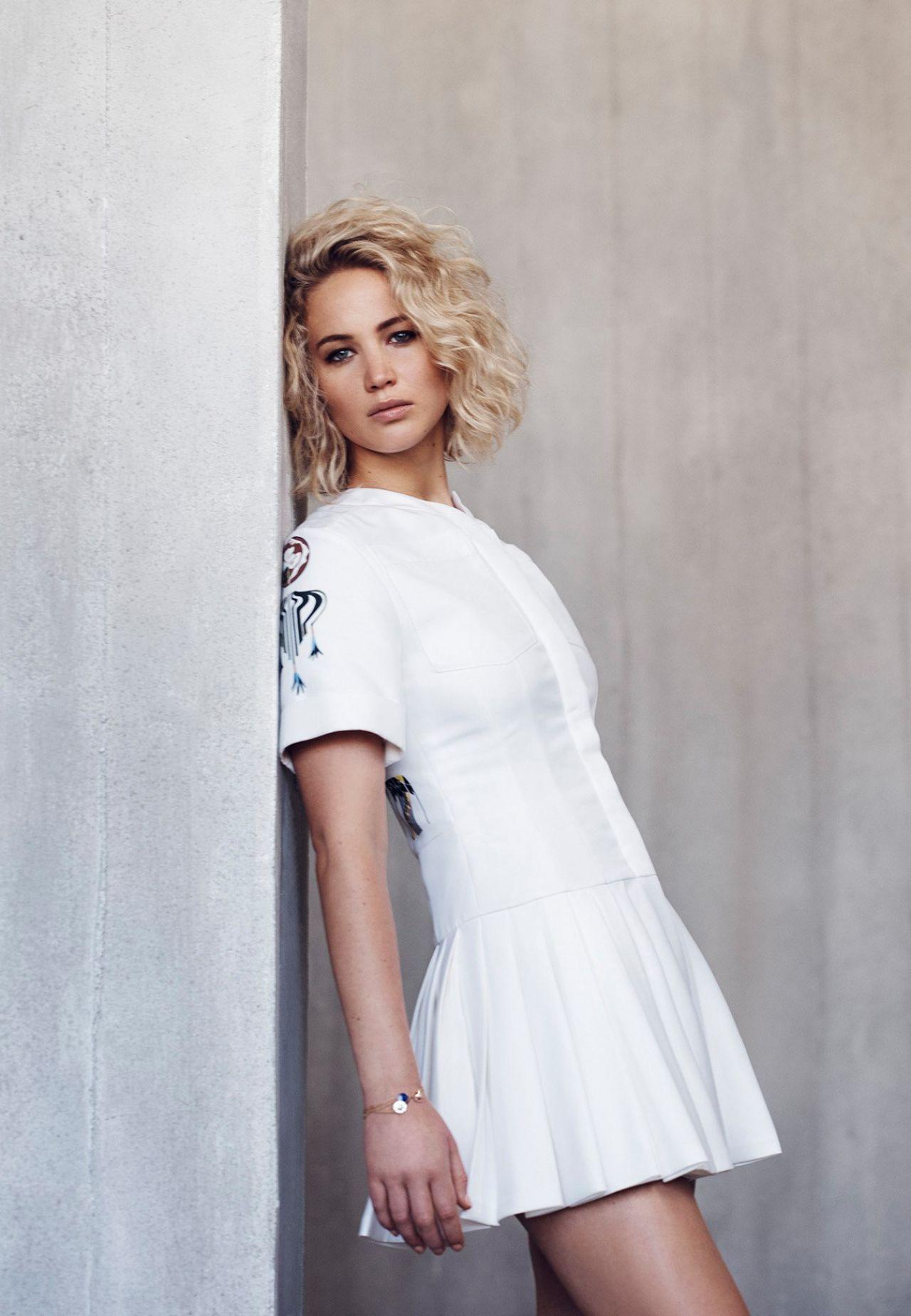 Jennifer Lawrence Photo Shoot For Dior 2016