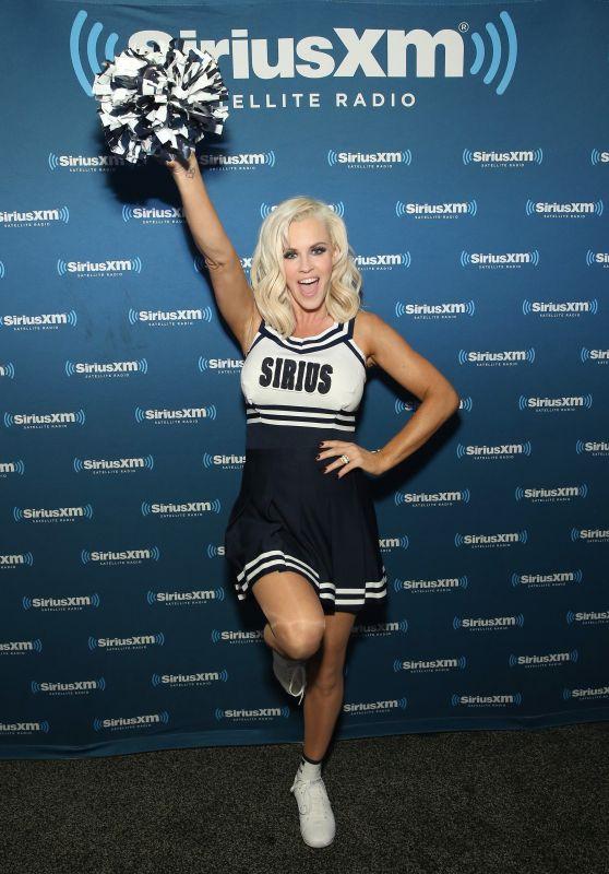 Jenny McCarthy - SiriusXM Set at Super Bowl 50 Radio Row in San Francisco, CA 2/5/2016