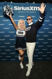 Jenny McCarthy - SiriusXM Set at Super Bowl 50 Radio Row in San Francisco, CA 2/5/2016