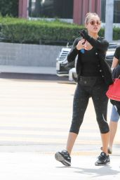Jessica Alba After a Workout - Out in Los Angeles, 2/28/2016