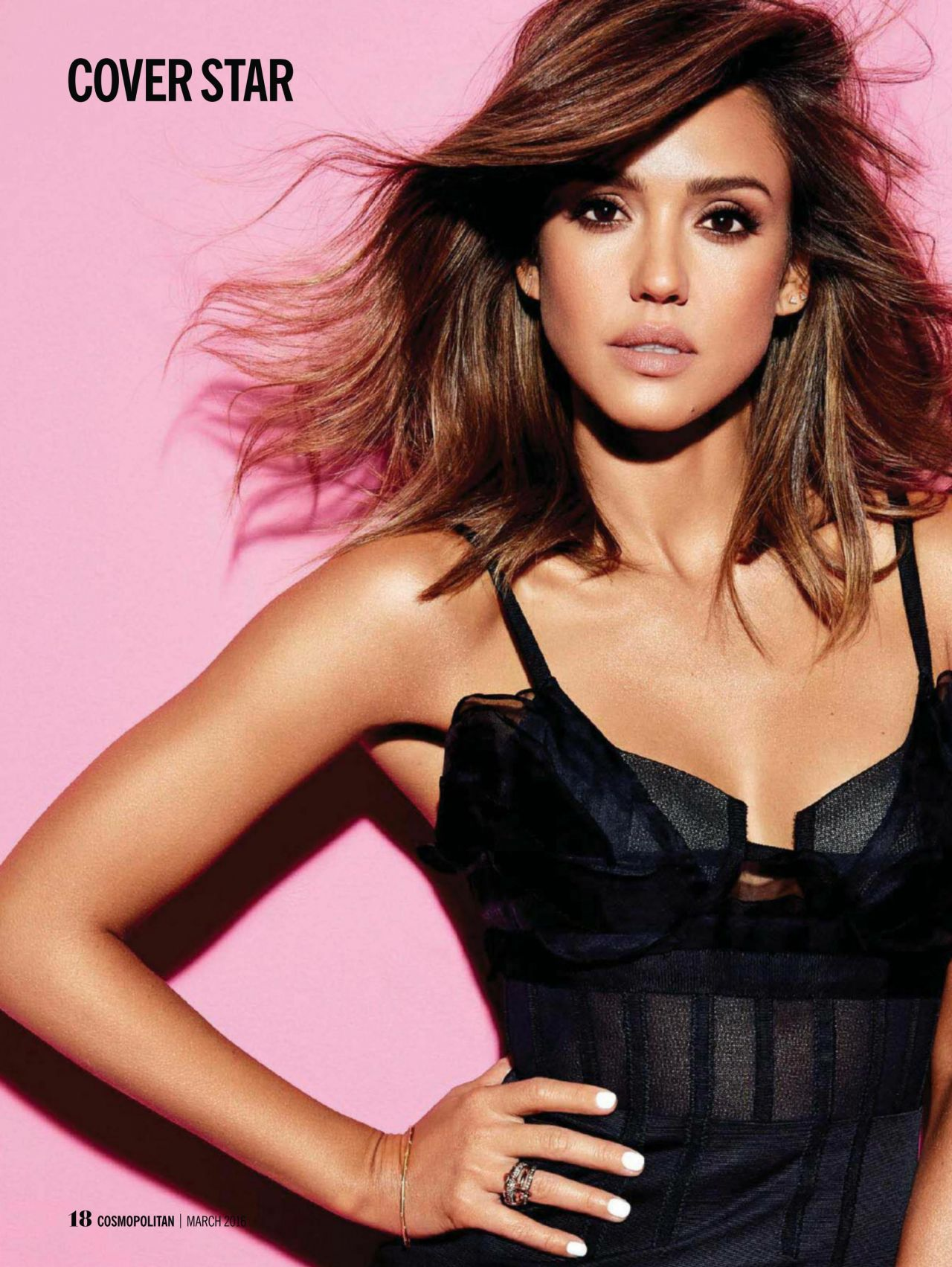 Jessica Alba – Cosmopolitan Magazine South Africa March 2016 Issue Jessica Alba