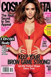 Jessica Alba - Cosmopolitan Magazine South Africa March 2016 Issue
