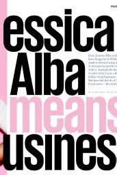 Jessica Alba - Cosmopolitan Magazine UK April 2016 Issue