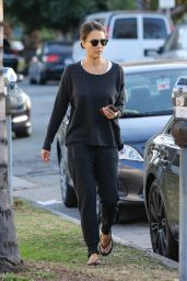 Jessica Alba - Out in West Hollywood 1/30/2016