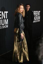 Jessica Alba - SAINT LAURENT at The Palladium in Los Angeles 2/10/2016