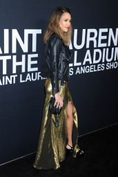 Jessica Alba - SAINT LAURENT at The Palladium in Los Angeles 2/10/2016